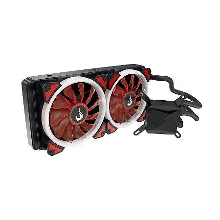 Water Cooler RiseMode Galaxy GW-240 Led Vermelho RM-WC-01-BR