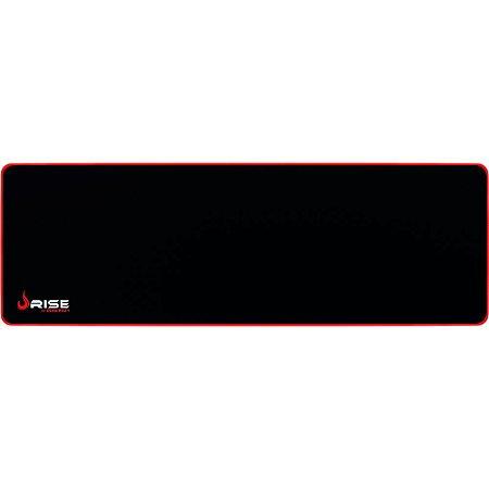 Mousepad RiseMode ZERO EXTENDED VERMELHO RG-MP-06-ZR