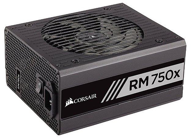 Fonte Corsair ATX 750W RM750X Full-Modular 80PLUS GOLD CP-9020179-WW