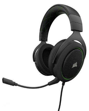 Headset Gamer Corsair HS50 P2 STEREO GREEN - CA-9011171-NA