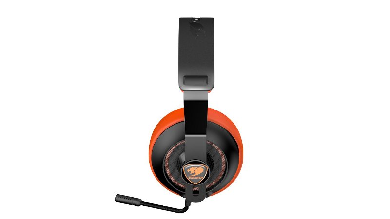 Headset Gamer Cougar Phontum Essential Orange - 3H150P40O.0001
