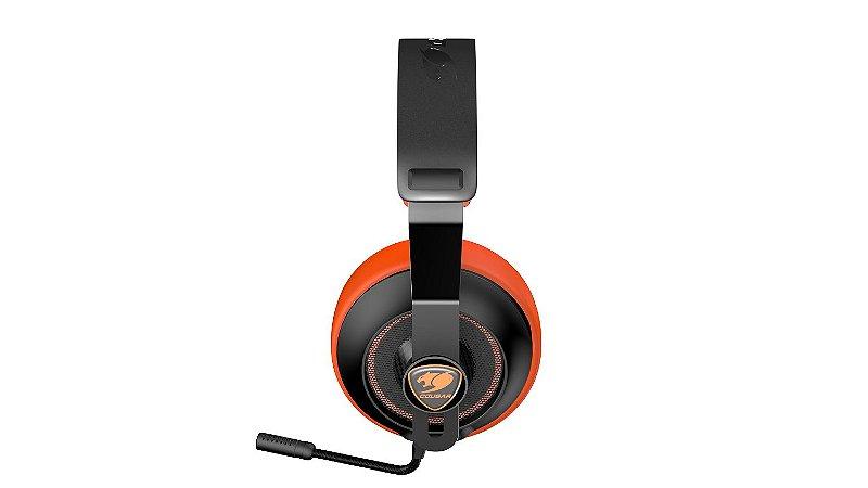Headset Gamer Cougar Phontum Essential Orange - 3H150P40O.0001