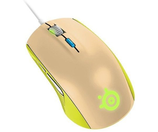 Mouse Gamer Steelseries Rival 100 Gaia GREEN