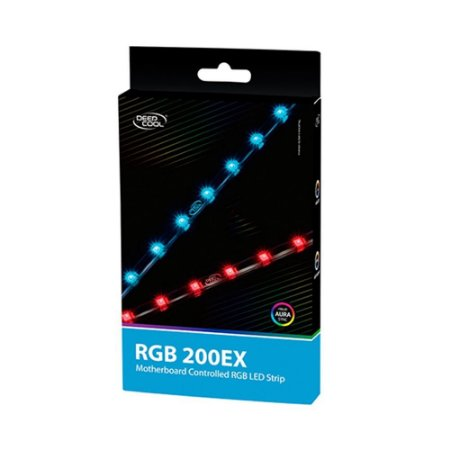 Fita de Led DeepCool RGB 200 EX - DP-LED-RGB200EX