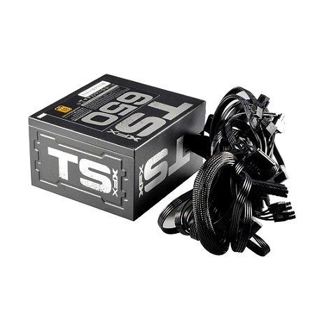 Fonte XFX 650W TS 80 Plus Gold - P1-650G-TS3X