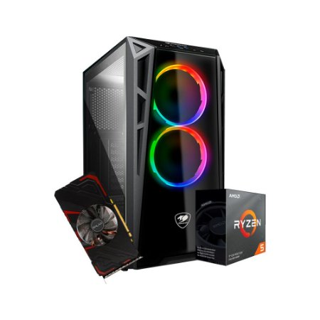 PC Gamer Playerid Master - AMD RYZEN 5 3600 / GEFORCE GTX 1660TI 6GB / DDR4 16GB 3600Mhz / SSD 240GB M2 / 500W
