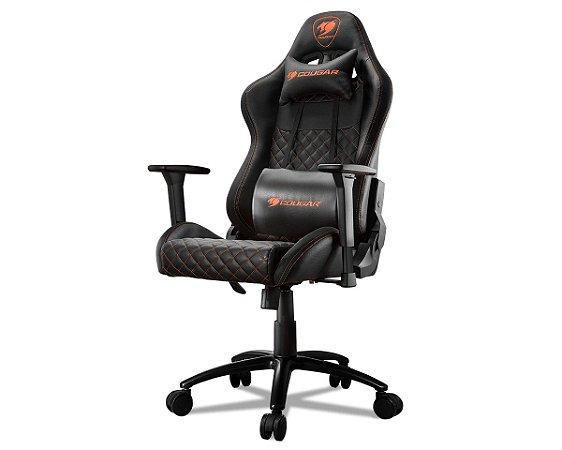 Cadeira Gamer Cougar Armor Pro Black - 3MARMPRB.0001