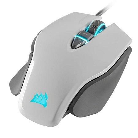 Mouse Gamer Corsair M65 RGB Elite 8 Botões 18000DPI Branco - CH-9309111-NA