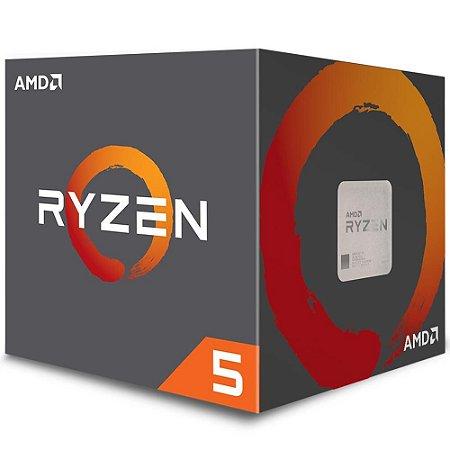 Processador AMD Ryzen 5 2600 3.4GHz 19Mb AM4 Wraith Stealth Cooler YD2600BBAFBOX