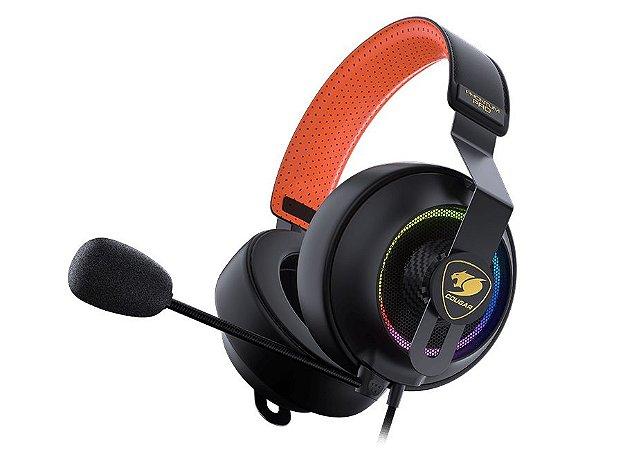 Headset Gamer Cougar Phontum Pro, RGB, Drivers 53mm, 7.1 Virtual Sorround - 3H800P53B.0001