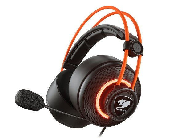 Headset Gamer Cougar Immersa Pro Prix - 3H700U50C-0004