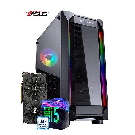 Computador Gamer PlayerID, série New Player, I5 9400F, RX 570 OC 8GB, 8GB RAM, SSD 240GB - CG-PID-NP-01C
