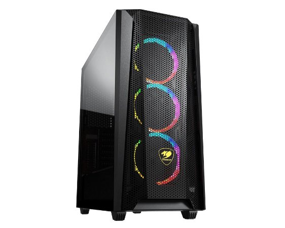 Gabinete Gamer Cougar MX660 Mesh RGB - 385BMS0.0004