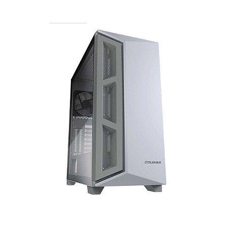 Gabinete Gamer Cougar DarkBlader X5 White, Mid Tower, 1 Fan, Sup. GPU Veritcal