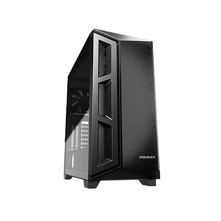 Gabinete Gamer Cougar DarkBlader X5 Translucent Black, Mid Tower, 1 Fan