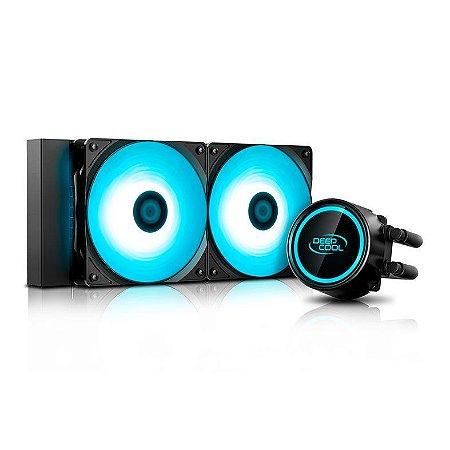 Water Cooler Deepcool GAMAXX L240T BLUE -  DP-H12RF-GL240TB
