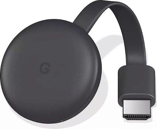 Google Chromecast 3 Original 3ª Geração Hdmi 1080p