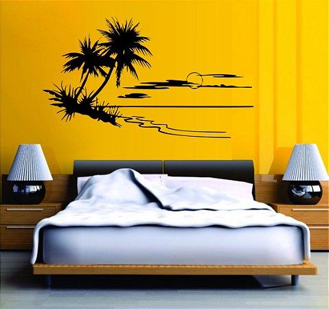adesivo recorte decorativo - Ilha