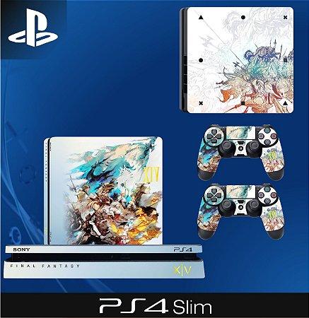 Capa skin Ps4 Slim - Final Fantasy XIV