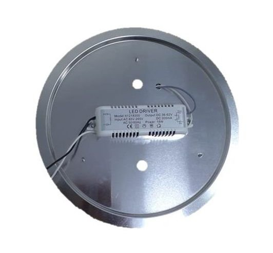 Conjunto placa de Led completo com reator e defletor 18W 127V/220V