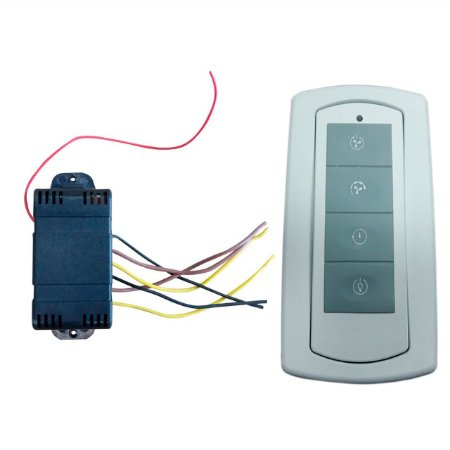 Controle Remoto Infinit Plus (com iluminação) 4 teclas Bivolt