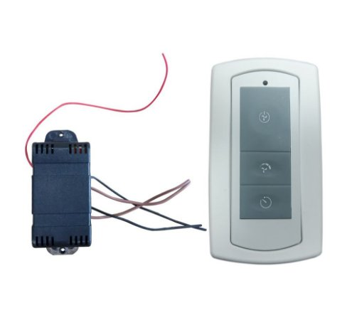 Controle Remoto Infinit (sem iluminação) 3 teclas Bivolt
