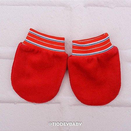 Luvinha Plush Vermelha Listras