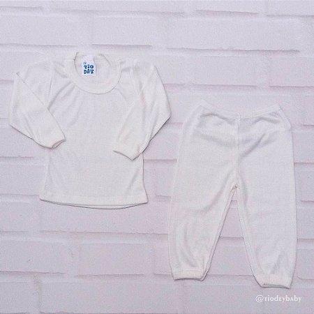 Conjunto Pijama Poliviscose Pérola
