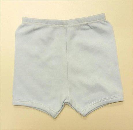 Shorts Suedine Azul