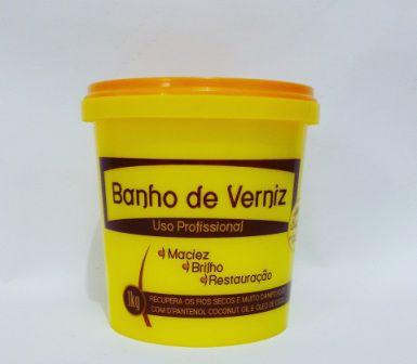 Banho De Verniz De Coco 1kg