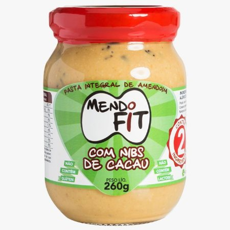 Pasta de Amendoim Integral com Nibs de Cacau MendoFit