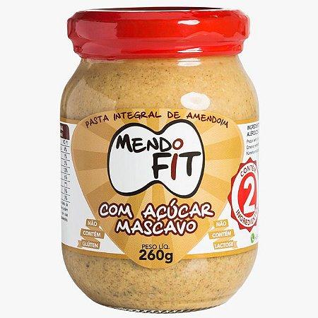 Pasta de Amendoim Integral com Açúcar Mascavo MendoFit
