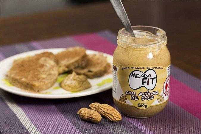 Pasta de Amendoim Integral com Açúcar de Coco MendoFit