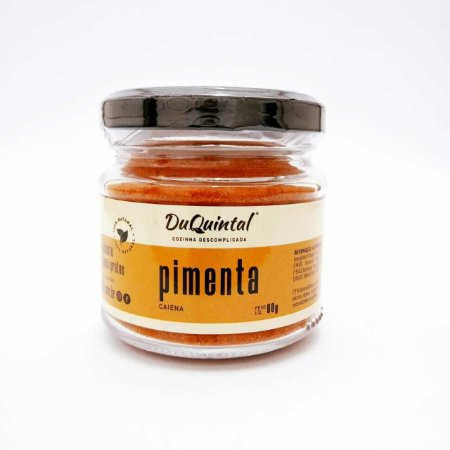 Tempero Natural Pimenta Caiena DuQuintal