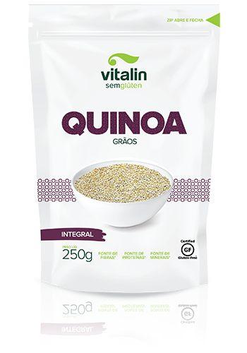Quinoa Grãos Integral Vitalin 250g