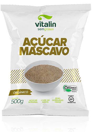 Acúcar Mascavo Orgânico Vitalin 500g