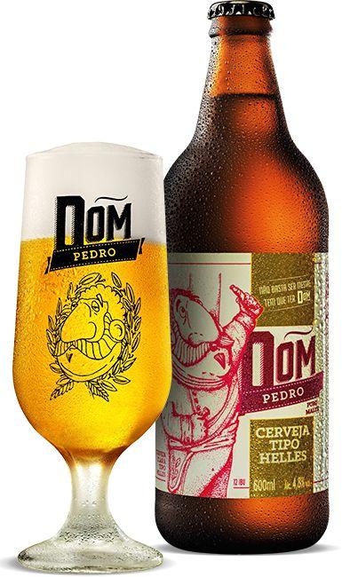 Dom Pedro (Helles) - Cervejaria Dom Haus