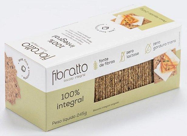 Biscoito Fibratto 100% Integral