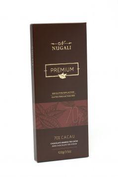 Tablete Amargo 70% Cacau Nugali