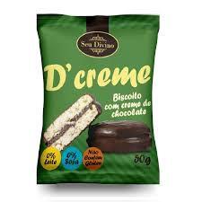 D'Creme - Biscoito com creme de chocolate