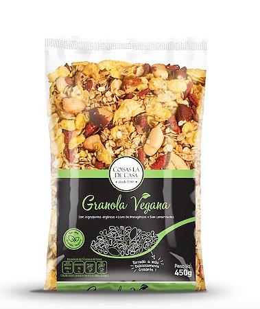 Granola Vegana Coisas Lá de Casa 450g