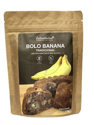 Bellamêndoa - Mistura para Bolo de Banana tradicional