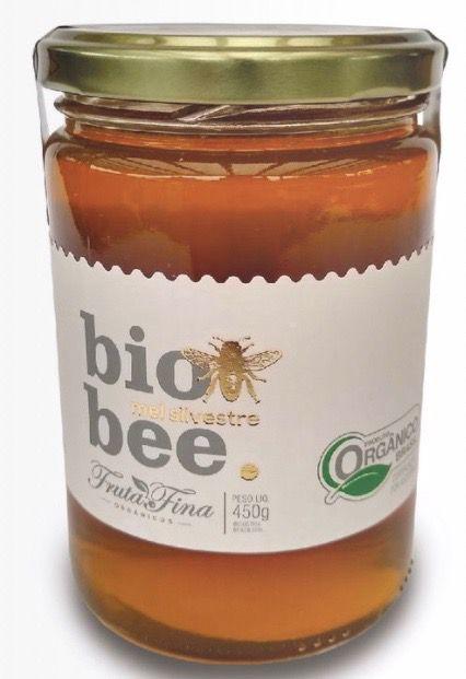 Mel Silvestre  Orgânico  Bio Bee Fruta Fina 450g