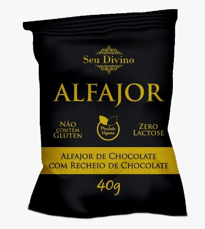 Alfajor de Chocolate Seu Divino 40g
