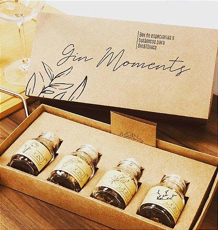 Box de Especiarias e Botânicos para Gin