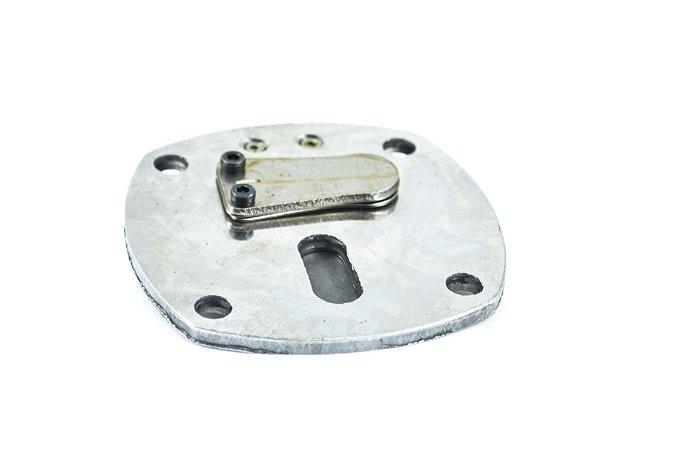 Válvula de Admissão e Compressão do Ar, em Ferro Fundido
