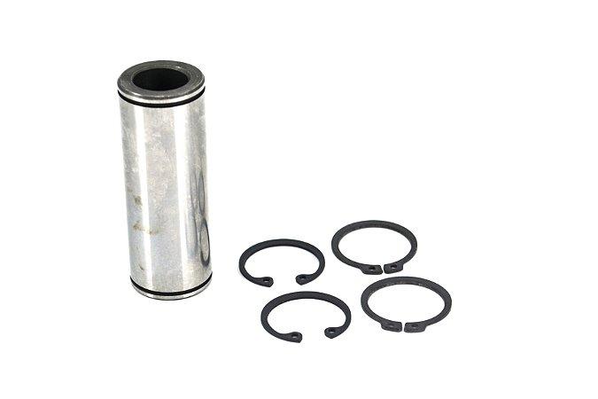Conjunto Pino Liso em Aço carbono D. 25mm Comprimento 69mm com 4