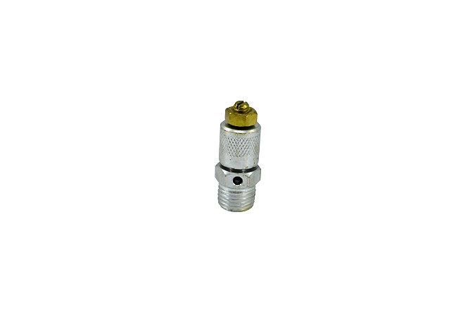 Válvula de Alívio e Segurança com Regulagem para Compressor