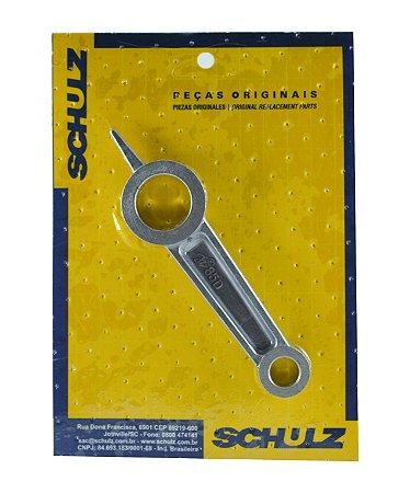 Biela em Alumínio com Colo Inferior 23mm e Colo Superior 12mm