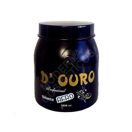 Selagem Profissional D Ouro Afro Selante 1 Kg Top
